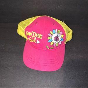 John Deere Girl toddler hat